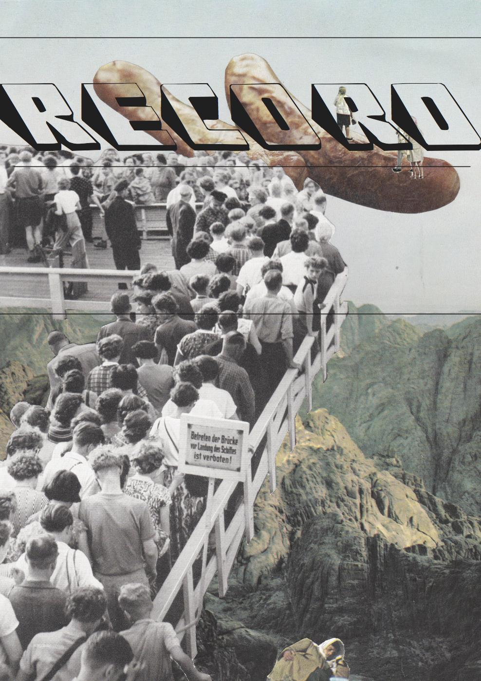 Record, poster by JOVANA REISINGER